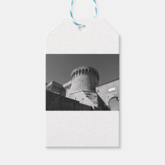 The Fortezza Medicea of Volterra . Tuscany, Italy Gift Tags
