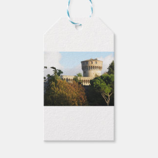The Fortezza Medicea of Volterra, Tuscany, Italy Gift Tags