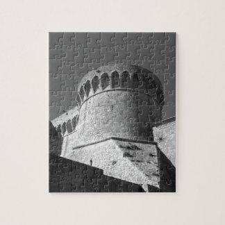 The Fortezza Medicea of Volterra . Tuscany, Italy Jigsaw Puzzle