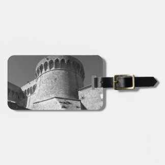 The Fortezza Medicea of Volterra . Tuscany, Italy Luggage Tag
