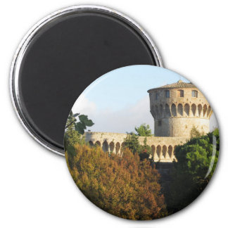 The Fortezza Medicea of Volterra, Tuscany, Italy Magnet