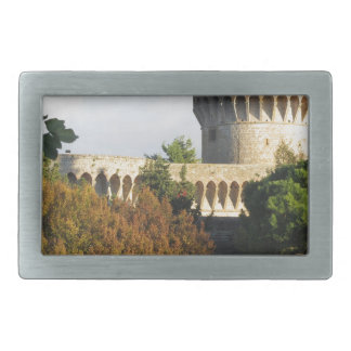 The Fortezza Medicea of Volterra, Tuscany, Italy Rectangular Belt Buckle