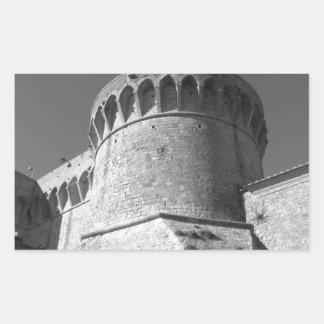 The Fortezza Medicea of Volterra . Tuscany, Italy Sticker