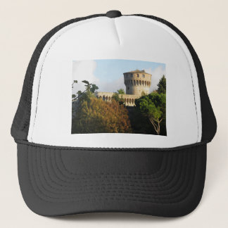 The Fortezza Medicea of Volterra, Tuscany, Italy Trucker Hat