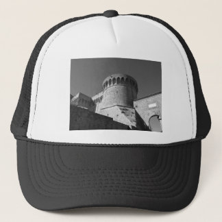 The Fortezza Medicea of Volterra . Tuscany, Italy Trucker Hat