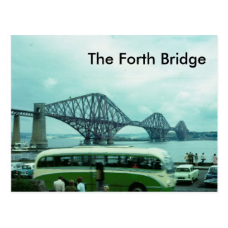 The Forth Bridge Postcard
