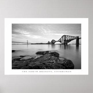 The Forth Bridges, Edinburgh - Print