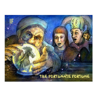 The Fortunate Fortune postcard by Mike Winterbauer