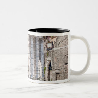 The Forum of Augustus is one of the Imperial 3 Two-Tone Coffee Mug
