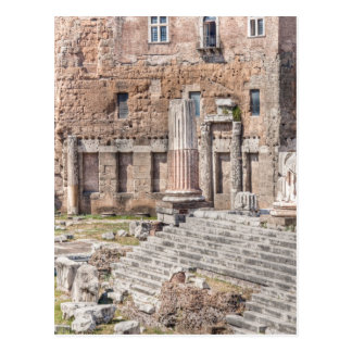 The Forum of Augustus is one of the Imperial 4 Postcard