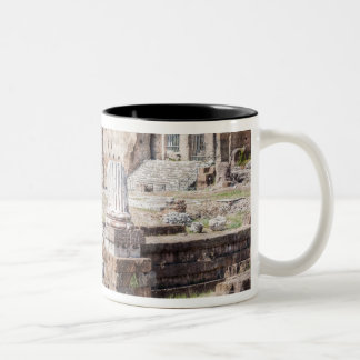 The Forum of Augustus is one of the Imperial Two-Tone Coffee Mug