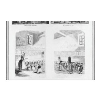 The foundling home stretched canvas prints