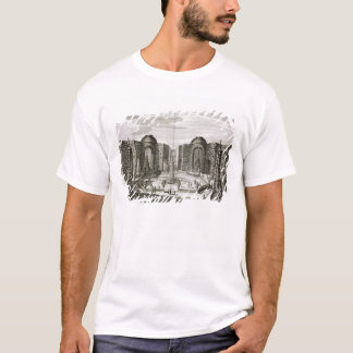 The fountain in the maze at the Princely Pleasure T-Shirt