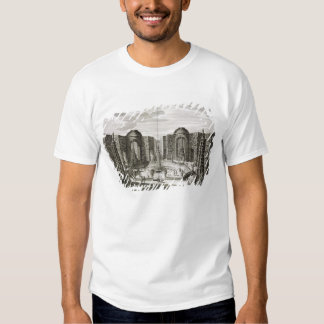 The fountain in the maze at the Princely Pleasure T-shirts