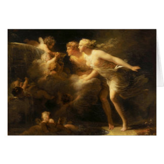 The Fountain of Love by Jean-Honore Fragonard 1785 Card