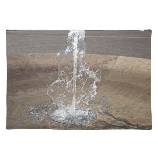 The fountain placemat