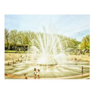 The Fountain Postcard