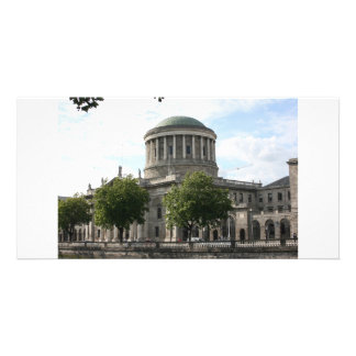 The Four Courts Dublin Ireland Photo Greeting Card