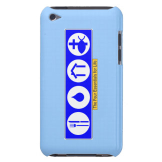 The Four Essentials for Life iPod Touch Case-Mate Case