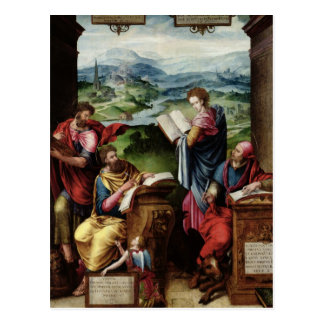 The Four Evangelists Postcard