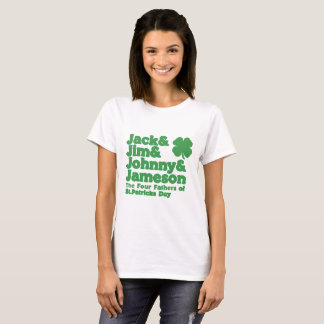 The Four Fathers of St. Patricks Day T-Shirt