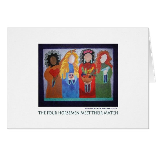 The Four Horsemen Meet Their Match Card