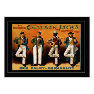 The Four Jacks Vintage Poster