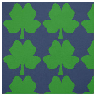 The Four-Leaf Clover For Luck Fabric