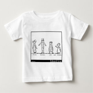 The Four Little Children Who Went Round the World Baby T-Shirt
