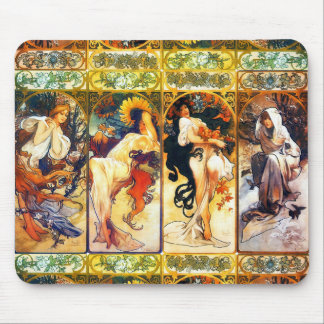 The Four Seasons mouse pad