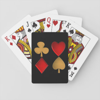 The four suits playing cards