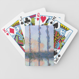 The Four Trees by Claude Monet Bicycle Playing Cards
