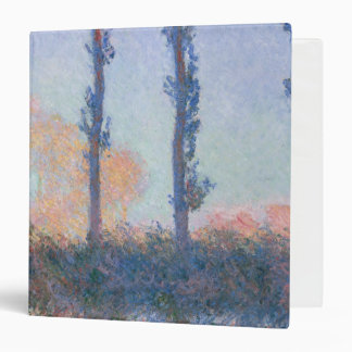 The Four Trees by Claude Monet Binder