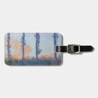 The Four Trees by Claude Monet Luggage Tag