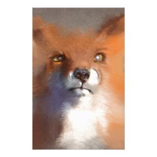 The Fox Customized Stationery