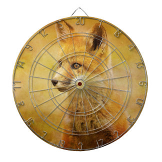 The Fox in the Wood Dart Board