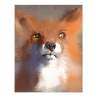 The Fox Letterhead