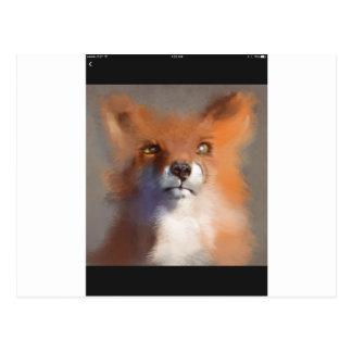 The Fox Postcard