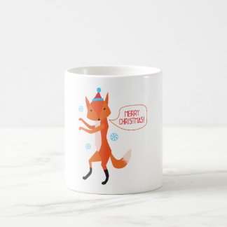 The Fox says Merry Christmas! Coffee Mug