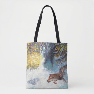 THE  FOX TOTE BAG