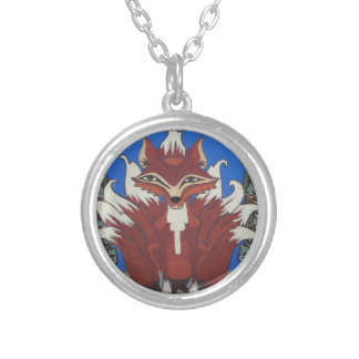 The fox with nine tails personalized necklace