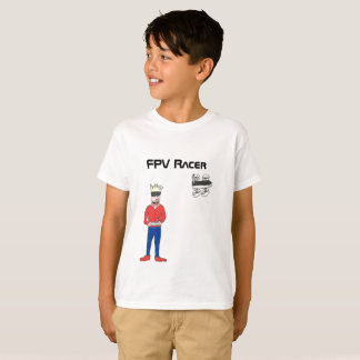 The FPV Racer drone t-shirt