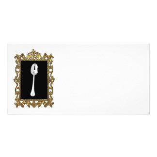 The Framed Spoon Customized Photo Card