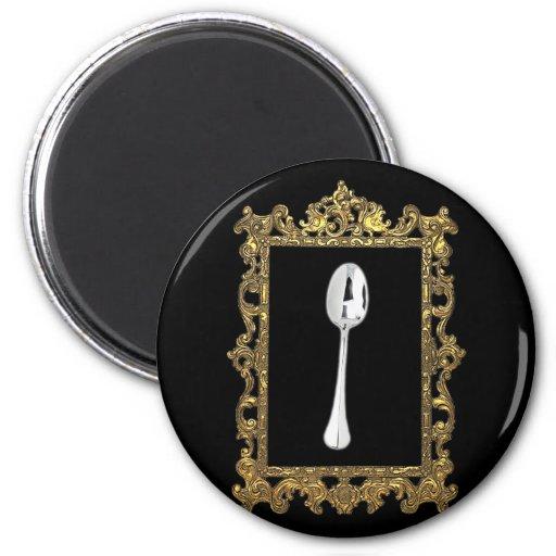 The Framed Spoon Fridge Magnets