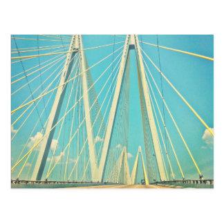 The Fred Hartman Bridge Postcard