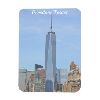 The Freedom Tower Stands Tall Magnet