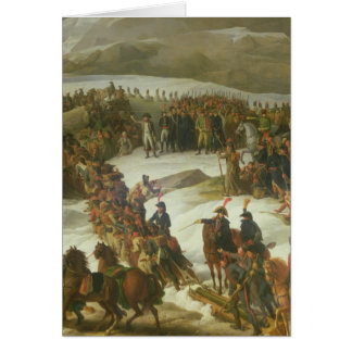 The French Army Crossing the St. Bernard Pass Card