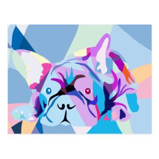 The french Bulldog Postcard