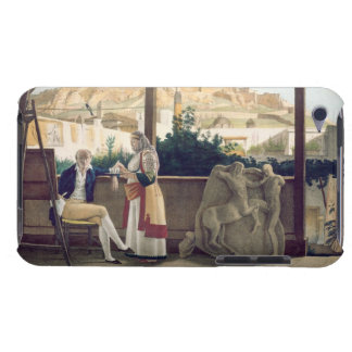 The French Consul, Monsieur Fauvel, on the terrace iPod Touch Cases