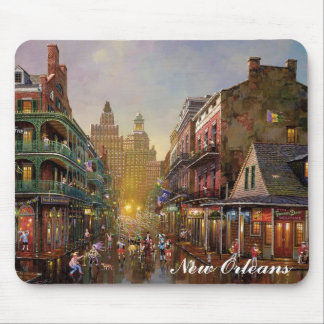 The French Quarter Mouse Pad